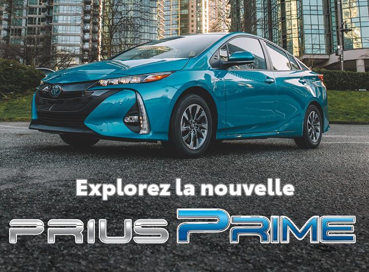 St-Hubert Toyota La Nouvelle Prius Prime 2022