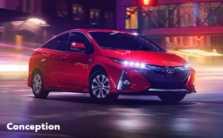 St-Hubert Toyota Prius Prime 2022 Conception