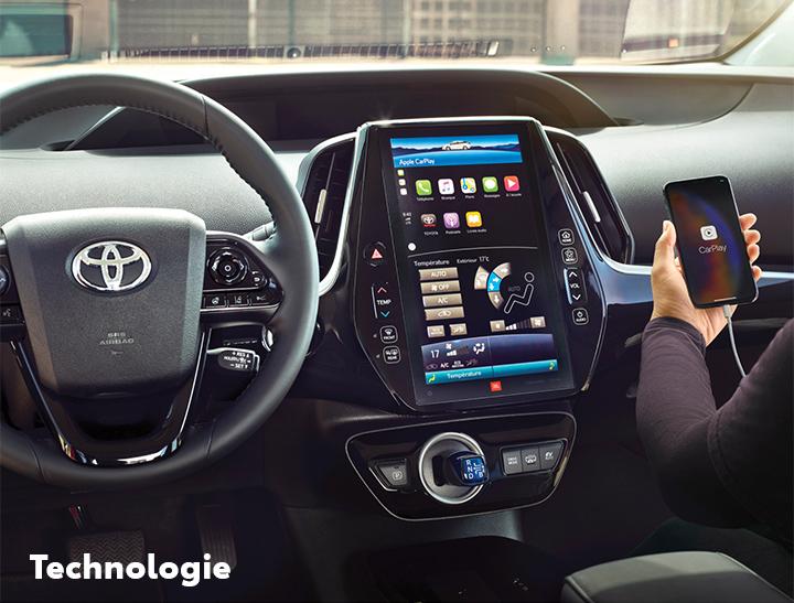 St-Hubert Toyota Prius Prime 2022 Technologie