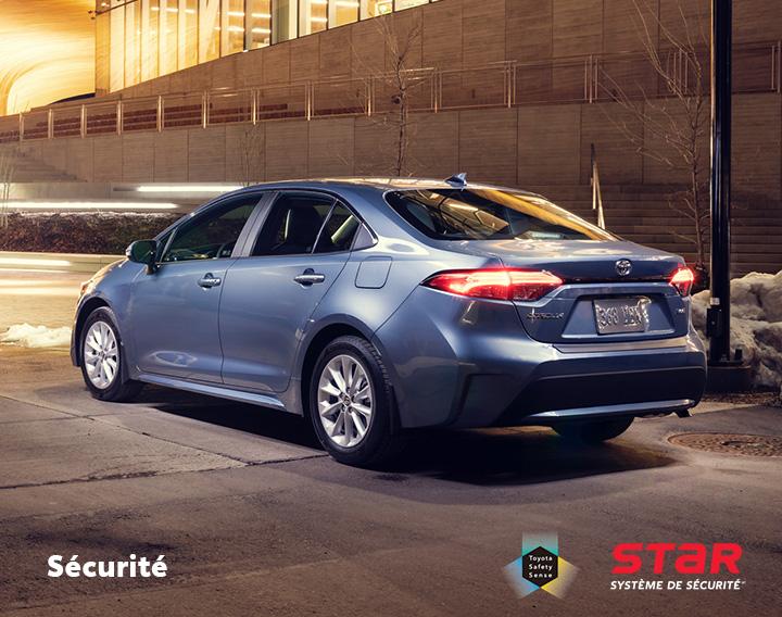 St-Hubert Toyota Corolla 2022 Sécurité