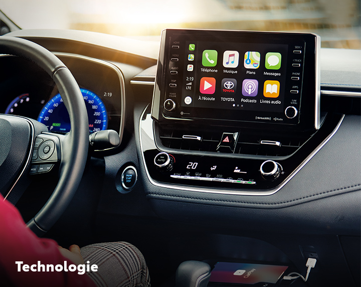 St-Hubert Toyota Corolla 2022 Technologie