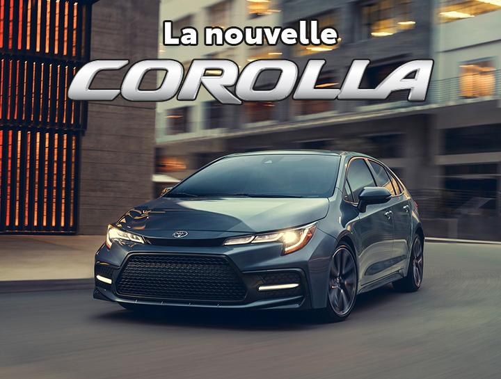 St-Hubert Toyota La Nouvelle Corolla 2022
