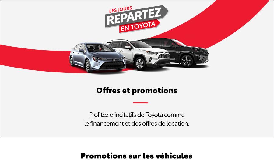 St-Hubert Toyota Repartez En Toyota Septembre 2021