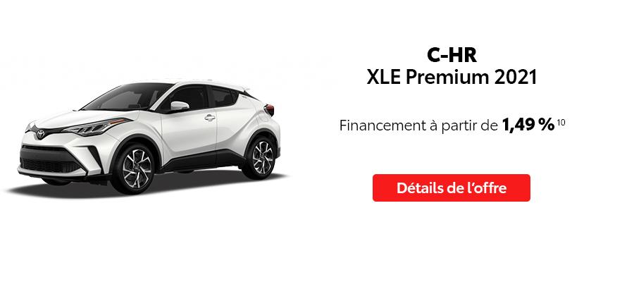 St-Hubert Toyota Repartez En Toyota Septembre 2021 C-HR XLE Premium 2021