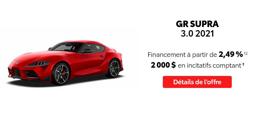 St-Hubert Toyota Repartez En Toyota Septembre 2021 GR Supra 2021