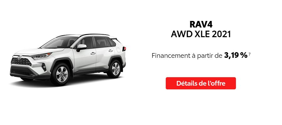 St-Hubert Toyota Repartez En Toyota Septembre 2021 RAV4 AWD XLE 2021