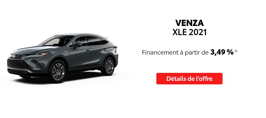 St-Hubert Toyota Repartez En Toyota Septembre 2021 Venza XLE 2021